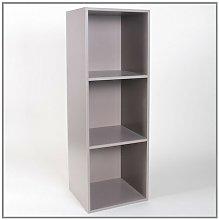 Tatem Bookcase Mercury Row Colour: Taupe