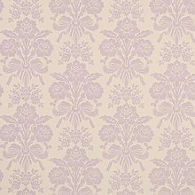 Tatton Amethyst Damask Design Floral Metallic