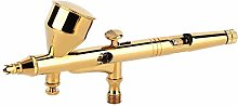 Tattoo Spray Gold-plated Dual Action Gravity Feed
