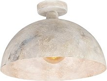 Taupe industrial ceiling lamp 35 cm - Magna.