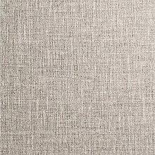 Taupe Linen Effect Wallpaper Textured HeavyWeight