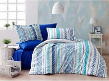 Tavarez Duvet Cover Set Ebern Designs Colour: Dark