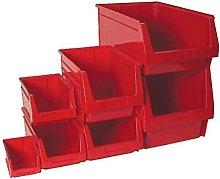 Tayg red Stackable Storage Bin mod. 55