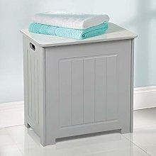 Taylor & Brown® Grey Wooden Bathroom Laundry