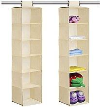Taylor & Brown® Hanging Garment Organiser, 6