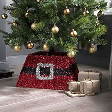 Taylor & Brown® Xmas Christmas Tinsel Tree Skirt