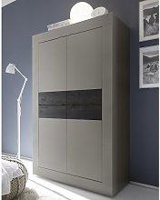 Taylor Modern Storage Cabinet In Matt Beige And