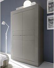 Taylor Modern Storage Cabinet In Matt Beige With 4