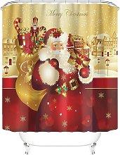 Taysta Shower Curtain Curtains Merry Christmas