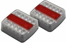 TB18LED Lighting Cluster Rear Square LED 12V -