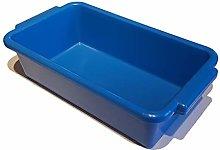 TB250 Blue Plastic Tote Bin Container