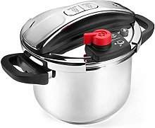TBAO 100% 304 Stainless Steel Pressure Cooker