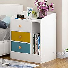 Tbaobei-Baby Bedside Table Bedside Table 3 Drawers