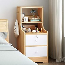 Tbaobei-Baby Bedside Table Nightstand Chest with