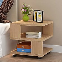 Tbaobei-Baby Bedside Table Small Nightstand