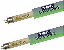 TBE Lighting 6w UV Fly Killer Tubes - 2 Pack - T5