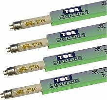 TBE Lighting 6w UV Fly Killer Tubes - 4 Pack - T5