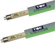 TBE Lighting 8w UV Fly Killer Tubes - 2 Pack - 8W