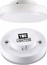 TBE Lighting LED GX53 5w Bulbs/Under Cabinet Disc