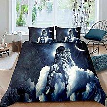 Tbrand Boys Astronaut Comforter Cover Double Size,