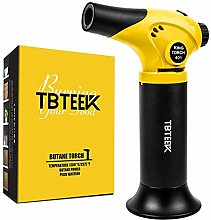 TBTeek Kitchen Blow Torch Refillable Mini Creme