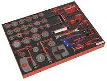 TBTP10 Tool Tray with Brake Service Tool Set 42pc