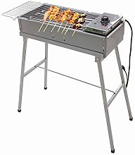 TBUDAR Barbecue Grill Electric and Charcoal