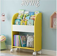 TBUDAR Bookcase Children's Bookshelf Wood Book