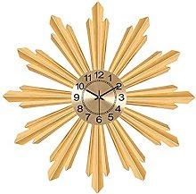 TBUDAR , Creative Metal Clock Living Room Bedroom
