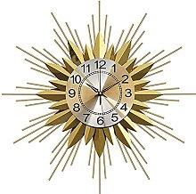 TBUDAR Creative Metal Wall Clock Wrought Iron