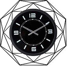 TBUDAR Nordic Minimalist Wall Clock Metal Wrought