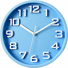 TBUDAR Wall Clock Creative Round Mute Decorative