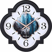 TBUDAR Wall Clock Large Size Living Room Wall