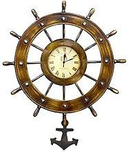 TBUDAR Wall Clock, Pocket Watch Wrought Iron Wall