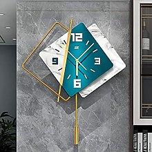 TBUDAR Wall Clock Wrought Iron Wall Clock