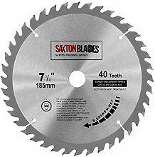 TCT18540T20B TCT Circular Saw Blade 185mm x 40T x