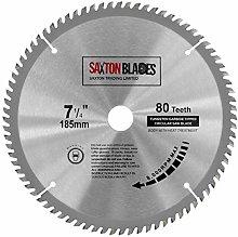 TCT18580T20B TCT Circular Saw Blade 185mm x 80T x