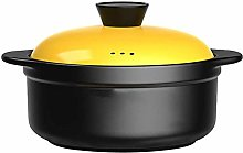 TCWDX Casserole Pot Ceramic Cooking Pot -