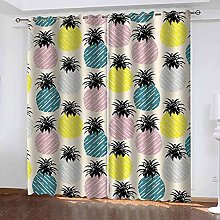 TDYGFC Blackout Curtains 2 Panels Set Abstract