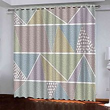 TDYGFC Blackout Curtains 2 Panels Set Frosted