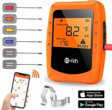 Te-Rich Wireless Grill Thermometer Smart Kitchen