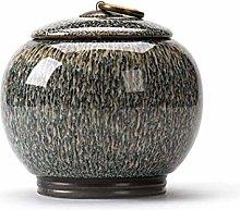 Tea Canister Ceramic Tea Caddy Tea Coffee Sugar