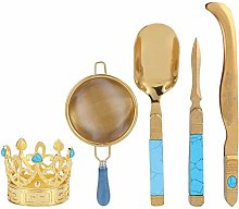Tea Ceremony Set 304 Stainless Steel Tea Spoon
