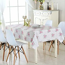 Tea Table Table Cloth Waterproof Cloth Round Table