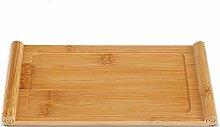 Tea Tray - Bamboo Scroll Shape Chinese Tea Table,