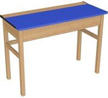 Teachers Wooden Locker Desk, Beech, Free Standard