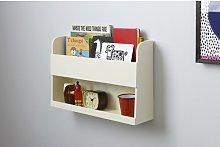 Teagan Wall Shelf Isabelle & Max Finish: Ivory