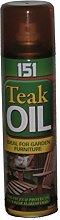 Teak Oil Spray - Ideal for Garden Furniture - 250ml