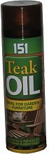 Teak Oil Spray - Ideal for Garden Furniture - 500ml