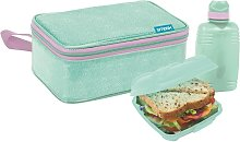 Teal All in One Lunch Bag and Box Solution